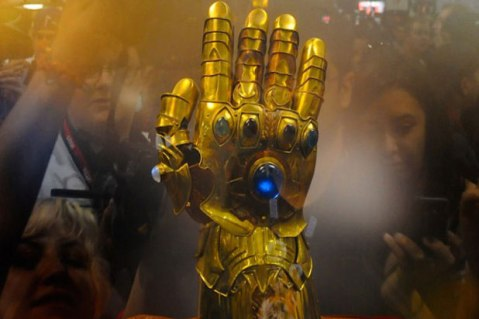 Infinity Gauntlet from SDCC