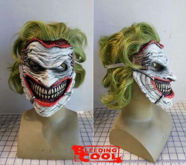 joker face cut off cosplay