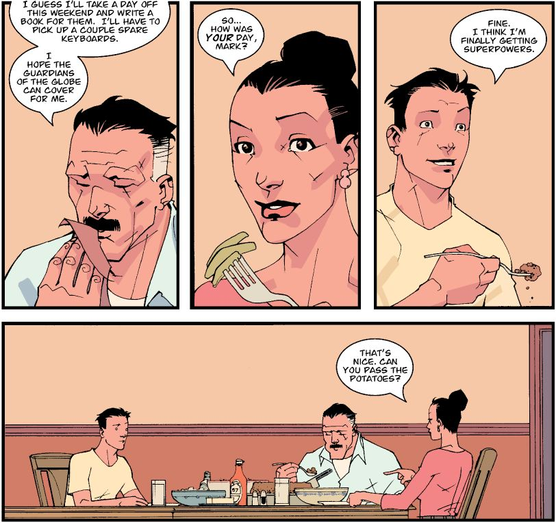 Throwback Thursday Trades: Invincible Volume 1 – Family Matters ...